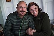 Jennifer Olszewski and Nick Marcelli celebrate their engagement with family and friends in Half Moon Bay, California, on November 15, 2015. (Stan Olszewski/SOSKIphoto)