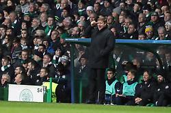 Anderlecht manager Hein Vanhaezebrouck during the UEFA Champions League match at Celtic Park, Glasgow.