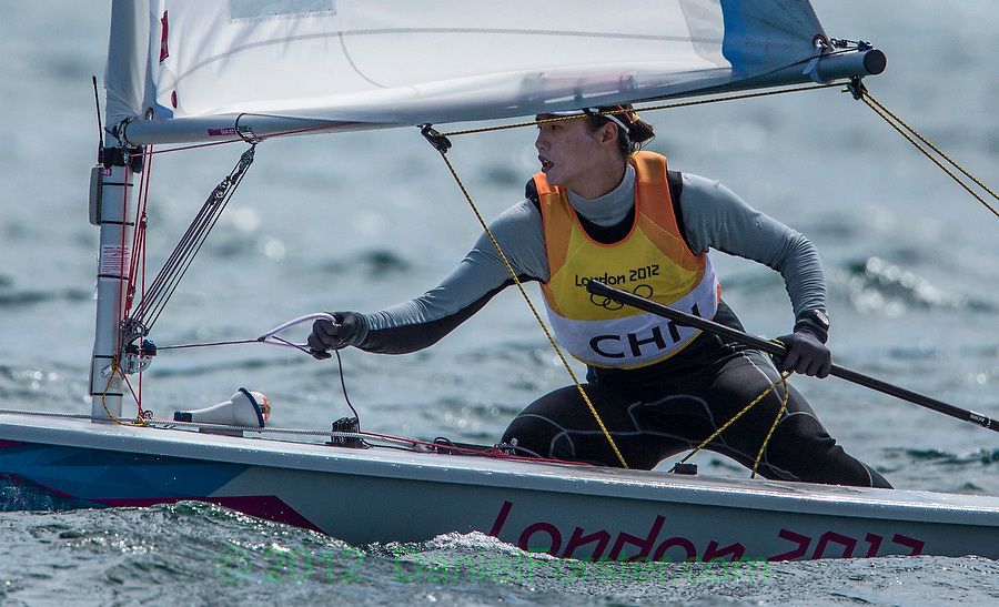 GOLD:<br /> Xu Lijia, (CHN, Laser Radial)<br /> <br /> 2012 Olympic Games <br /> London / Weymouth