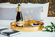 Romantic Valentine Day setting at the Atticus Hotel with R Stuart Bubbly