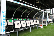 A general view of Fulham FC before the the Sky Bet Championship match at Craven Cottage, London Picture by Richard Brooks/Focus Images Ltd 07947656233 17/04/2017