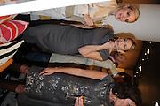 SONYA MORGAN; HEATHER THOMSON; , Jonathan Adler Store opening. Sloane St. London. 16 November 2011. <br /> <br />  , -DO NOT ARCHIVE-© Copyright Photograph by Dafydd Jones. 248 Clapham Rd. London SW9 0PZ. Tel 0207 820 0771. www.dafjones.com.