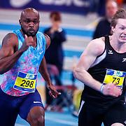 NLD/Apeldoorn/20180217 - NK Indoor Athletiek 2018, 60 meter heren, Churandy Martina en Roelf Bouwmeester