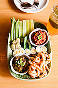 Nahm Prik 2-Ways and Bangkok Bastard cocktail at Soul Food Mahanakorn