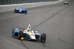 August 19, 2018 - Long Pond, Pennsylvania, United Stated - CONOR DALY (88) of the United States battles for position during the ABC Supply 500 at Pocono Raceway in Long Pond, Pennsylvania. (Credit Image: © Justin R. Noe Asp Inc/ASP via ZUMA Wire)