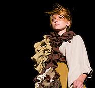 Omaha, NEB 9/19/09.A model with an Erica White designed piece...Chris Machian/The World-Herald