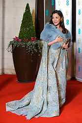 Michelle Yeoh attending the after party for the 72nd British Academy Film Awards, at the Grosvenor House Hotel in central London. Picture date: Sunday February 10th, 2019. Photo credit should read: Matt Crossick/ EMPICS Entertainment.