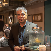"Munir Virani of The Peregrine Fund  from Kenya ""Game of poisons: a strategy to save Kenya's threatened vultures "" outstanding efforts to protect some of the world's most endangered animals and their habitat from Pooches, trophy hunting, medicine and food consumption. the goal for Whitley Fund for Nature is to reach the mind of the people and politicians on 26 April 2018 at Library in  London, UK."
