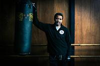 Bill Owens at Cascos Martial Arts Academy in East Oakland.