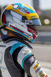 April 21, 2018 - Birmingham, Alabama, United States of America - GABBY CHAVES (88) of Colombia waits for a practice session for the Honda Indy Grand Prix of Alabama at Barber Motorsports Park in Birmingham Alabama. (Credit Image: © Walter G Arce Sr Asp Inc/ASP via ZUMA Wire)