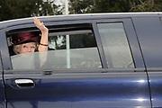 Koningin Beatrix woont ter gelegenheid van het 100-jarig bestaan van de vereniging Plattelands Jongeren Gelderland in Toldijk een forum bij over de ontwikkeling van jongeren op het platteland. ////  Queen Beatrix attends the 100th anniversary of the association Rural Youth Gelderland Toldijk with a forum for the development of young people in rural areas.<br /> <br /> Op de foto/Onthe phoro:  Koningin Beatrix / Queen Beatrix
