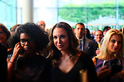 June 12, 2017-New York, New York-United States: Audience attends ' Cocktails & Conversation with Ambassador Zindzi Mandela 'highlighting the advocacy for the equity and rights of girls and women held at the Lincoln Ristorante at Lincoln Center on June 12, 2017 in New York City. Powered by CareerBox Soweto, the organization's mission is fulfill the hopes and dreams of youth of South Africa. (Photo by Terrence Jennings/terrencejennings.com)