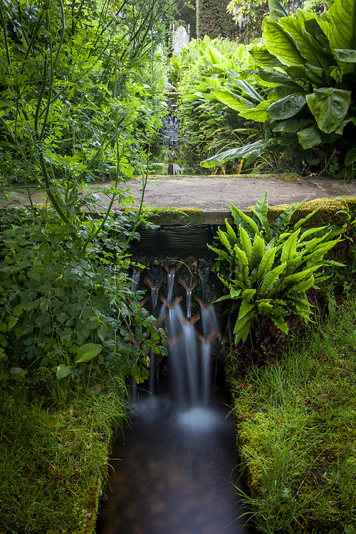 The Rill Waterfalls, Shute House, Donhead St Mary, Wiltshire