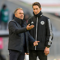 21.11.2020, Allianz Arena, Muenchen, GER,  FC Bayern Muenchen SV Werder Bremen <br /> <br /> <br />  im Bild Hansi Flick (Trainer FCB)<br /> <br /> <br /> <br /> Foto © nordphoto / Straubmeier / Pool/ <br /> <br /> DFL regulations prohibit any use of photographs as image sequences and / or quasi-video.