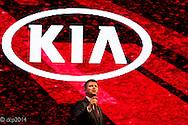 Kia Motors National Dealer Conference and car launch, Birmingham ICC, UK