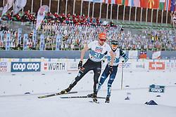 04.03.2021, Oberstdorf, GER, FIS Weltmeisterschaften Ski Nordisch, Oberstdorf 2021, Herren, Nordische Kombination, Einzelbewerb, Langlauf, im Bild Johannes Rydzek (GER) // Johannes Rydzek of Germany during the Cross Country Competition of men Nordic combined Single of FIS Nordic Ski World Championships 2021 in Oberstdorf, Germany on 2021/03/04. EXPA Pictures © 2021, PhotoCredit: EXPA/ Dominik Angerer
