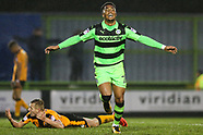 Forest Green Rovers v Cambridge United 200118