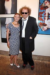 MIKE FIGGIS and CAMILLA RUTHERFORD at the launch of 'Glenmorangie 5 Senses' an exhibition of photographs by Mike Figgis held at Proud Camden, Stables Market, London NW1 on 13th May 2008.<br /><br />NON EXCLUSIVE - WORLD RIGHTS