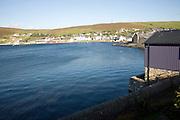 Scalloway village, Shetland Islands, Scotland