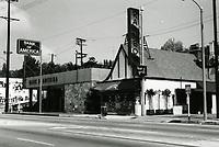 1973 Rainbow Bar & Grill on Sunset Blvd.