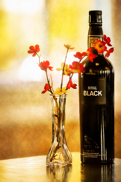 Enjoying A Bottle Of Quinta do Noval Noval Black with just the right mood.