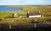 View to The Scullock headland, Gossabrough, Yell, Shetland Islands, Scotland
