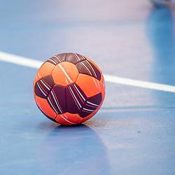 Feature: Handball auf Spielfeld / LIQUI MOLY HBL 20/21  1. Handball-Bundesliga: TVB Stuttgart - FRISCH AUF! Goeppingen am 24.04.2021 in Stuttgart (SCHARRena), Baden-Wuerttemberg, Deutschland<br /> <br /> Foto © PIX-Sportfotos *** Foto ist honorarpflichtig! *** Auf Anfrage in hoeherer Qualitaet/Aufloesung. Belegexemplar erbeten. Veroeffentlichung ausschliesslich fuer journalistisch-publizistische Zwecke. For editorial use only.