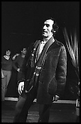 ARNOLD BROWN, Performance of The Comic Strip,  Boulevard Theatre, next to the Raymond Revue, Walkers court , Soho. London. 1981