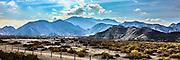 Panorama of mountains near San Felipe, Baja California, Mexico