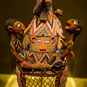 Smithsonian National Museum of African Art Crown from Nigeria. An early 20th century piece titled Crown from the Yoruba peopls of Nigeria. The Smithsonian National Museum of African Art was opened at its current location in 1987 as a mostly underground facility behind the Smithsonian Castle on Washington DC's National Mall. It is dedicated to ancient and contemporary African art.