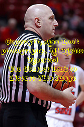 01 January 2017: Jeff Cross during an NCAA Missouri Valley Conference Women's Basketball game between Illinois State University Redbirds the Braves of Bradley at Redbird Arena in Normal Illinois.