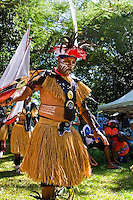 Torres Island and Aboriginal dance highlighted cultural exhibitions at The Tanks in Cairns, Australia in August 2009.