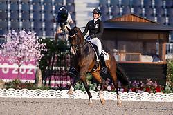 Roos Laurence, BEL, Fil Rouge, 111<br /> Olympic Games Tokyo 2021<br /> © Hippo Foto - Dirk Caremans<br /> 25/07/2021