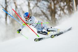 "Veronika Velez Zuzulova (SVK) during FIS Alpine Ski World Cup 2016/17 Ladies Slalom race named ""Snow Queen Trophy 2017"", on January 3, 2017 in Course Crveni Spust at Sljeme hill, Zagreb, Croatia. Photo by Žiga Zupan / Sportida"