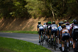 Peloton approach the final small circuit at Grand Prix de Plouay Lorient Agglomération a 121.5 km road race in Plouay, France on August 26, 2017. (Photo by Sean Robinson/Velofocus)