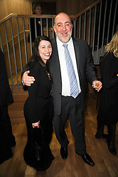 H.E.RON PROSOR The Israeli ambassador with SHARRON HARNOY the Israeli Cultural Attache at the opening reception of the new Jewish Museum, Raymond Burton House, 129-131 Albert Street, London NW1 on 16th March 2010.