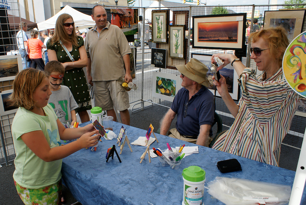 West Reading Summer Street Arts Festival, Berks Co., PA