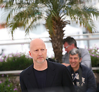 John Hillcoat at the Lawless film photocall at the 65th Cannes Film Festival. The screenplay for the film Lawless was written by Nick Cave and Directed by John Hillcoat. Saturday 19th May 2012 in Cannes Film Festival, France.