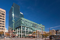 Baltimore City Skyline from 111 S. Calvert Street 27th foor Business Suites