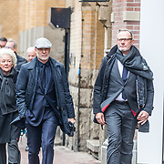 NLD/Amsterdam//20170309 - Herdenkingsdienst Guus Verstraete, Mart Visser