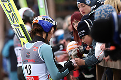 Taku Takeuchi of Japan with fans at e.on Ruhrgas FIS World Cup Ski Jumping on K215 ski flying hill, on March 14, 2008 in Planica, Slovenia . (Photo by Vid Ponikvar / Sportal Images)./ Sportida)