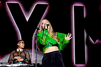 Becky Hill at Free Radio Hits Live, Resorts World Arena photo by Chris Wynne