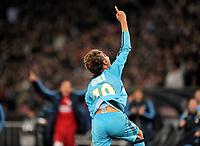 Fotball<br /> Foto: Witters/Digitalsport<br /> NORWAY ONLY<br /> <br /> 21.10.2009<br /> <br /> 0:1 Jubel Gabriel Heinze (Marseille)<br /> <br /> Champions League FC Zürich - Olympique Marseille