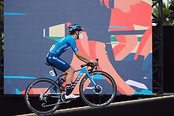 Barbara Guarischi (ITA) at the 2020 La Course By Le Tour with FDJ, a 96 km road race in Nice, France on August 29, 2020. Photo by Sean Robinson/velofocus.com