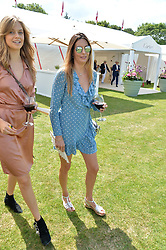 Zara Simon at Cartier Queen's Cup Polo, Guard's Polo Club, Berkshire, England. 18 June 2017.
