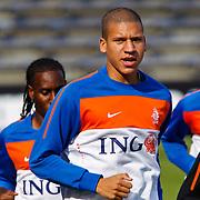 NLD/Katwijk/20100809 - Training van het Nederlands elftal, Jeffrey Bruma
