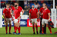 Rugby Union - 2019 Rugby World Cup - Semi-Final: Wales vs. South Africa<br /> <br /> Welsh player react after losing at International Stadium Yokohama, Kanagawa Prefecture, Yokohama City.<br /> <br /> COLORSPORT/LYNNE CAMERON