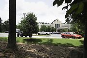 ALEXANDER CITY, AL – JUNE 5, 2020: An exterior view of Bill Nichols State Veterans Home. CREDIT: Bob Miller for The Wall Street Journal<br /> VETVIRUS