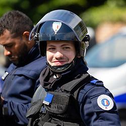 Demi-journée de formation aux violences urbaines organisée par le Centre Départemental des Stages et de la Formation de la DDSP80 au profit des patrouilles de Police-Secours et de la Section d'Intervention de la ville d'Amiens.<br /> Mai 2021 / Amiens (80) / FRANCE<br /> <br /> Voir toutes les photos de ce reportage (35 photos) https://sandrachenugodefroy.photoshelter.com/gallery/2021-05-Formation-Violences-Urbaines-DDSP80-Complet/G0000tf9Dzucg7s4/C0000yuz5WpdBLSQ