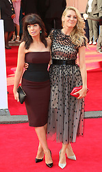 © Licensed to London News Pictures. 18/05/2014, UK. Claudia Winkleman; Tess Daly, Arqiva British Academy Television Awards - BAFTA, Theatre Royal Drury Lane, London UK, 18 May 2014. Photo credit : Richard Goldschmidt/Piqtured/LNP